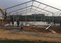 500 Person Heavy Duty Wedding Party Tent With Transparent Windows Sun Proof